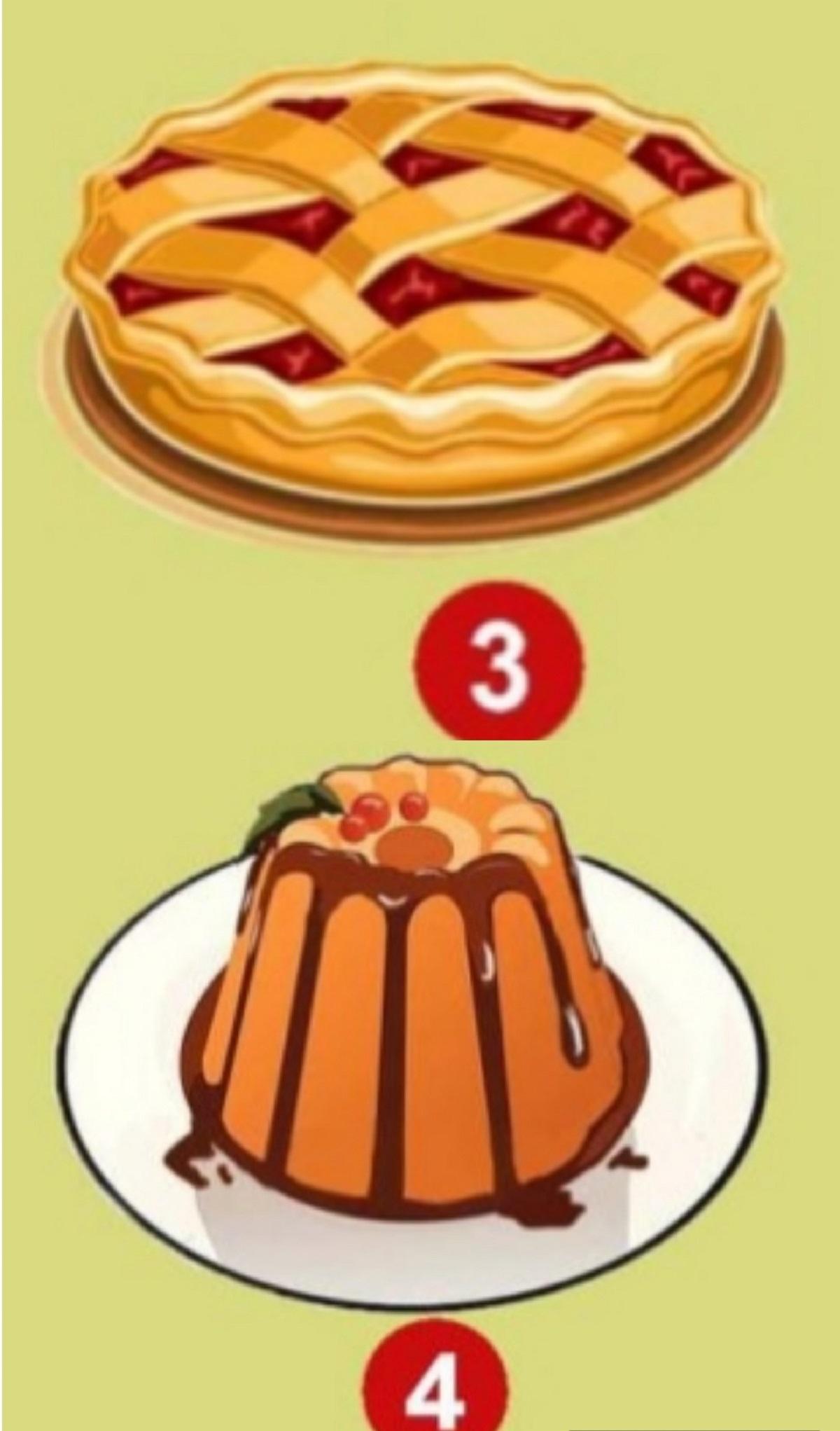 torta e budino