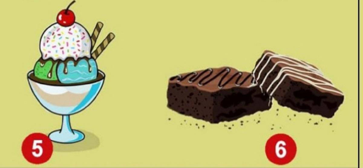 gelato e brownie