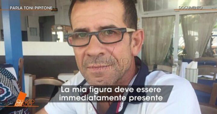 Toni Pipitone rompe il silenzio dopo anni: le sue parole trasmesse da Quarto Grado
