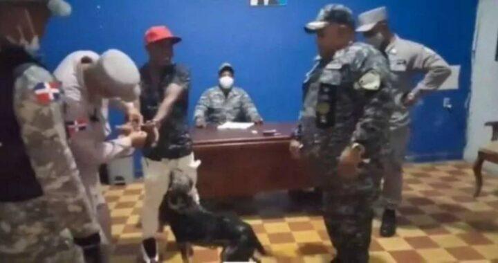 poliziotti e cane