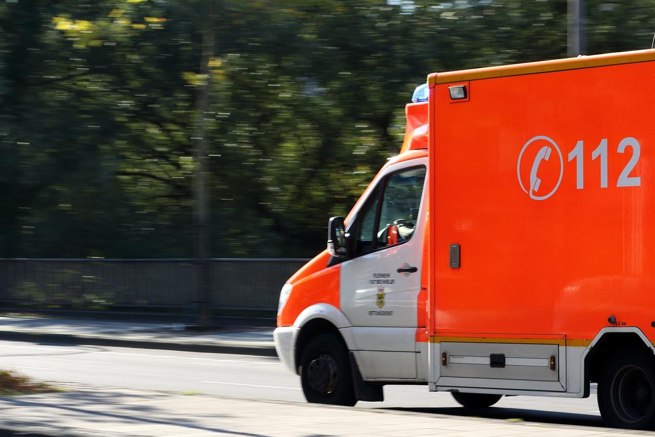 Ambulanza di soccorso