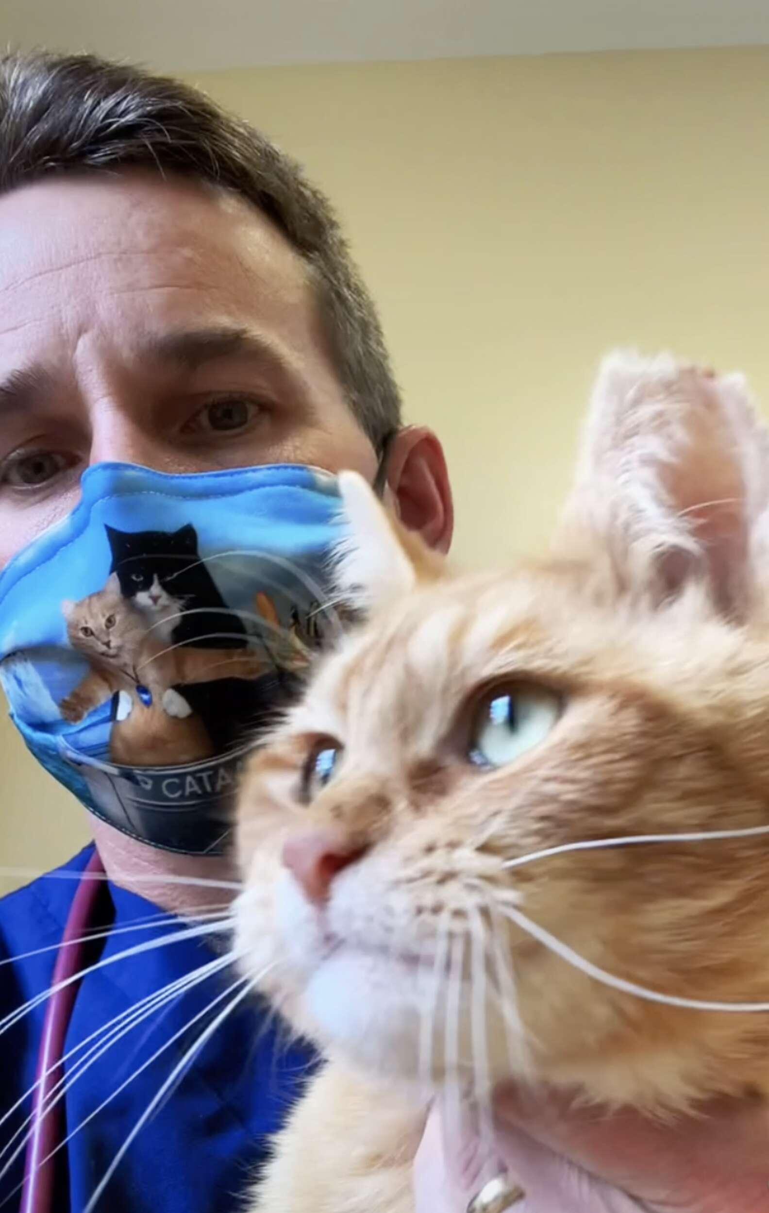 Dr. McGlasson and Nemo