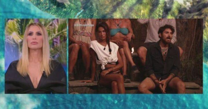 """Isola dei Famosi, lite in diretta tra Francesca Lodo e Andrea Cerioli: """"Sei un de*****te"""""""