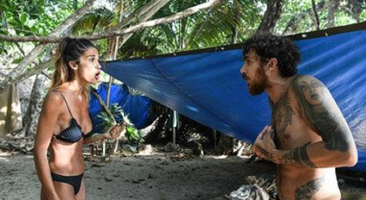 Isola dei Famosi, lite in diretta tra Francesca Lodo e Andrea Cerioli