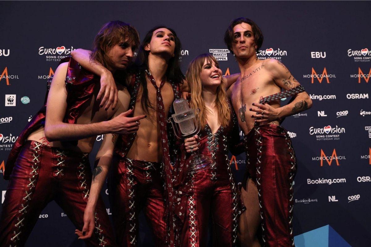 Maneskin trionfano all'Eurovision
