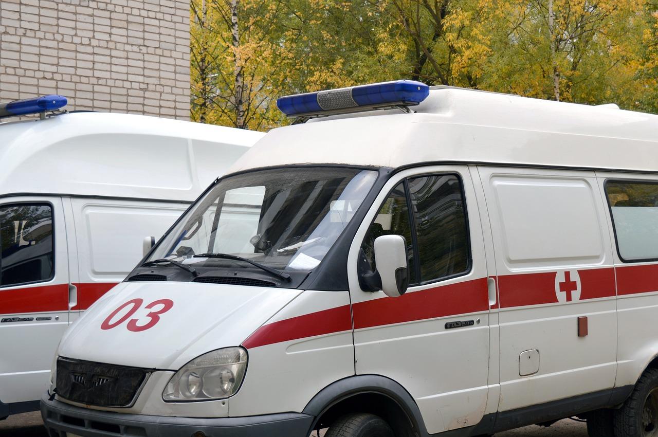 Ambulanza di soccorso del 118