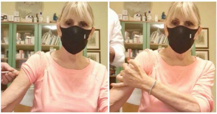 UeD, Gemma Galgani si sottopone al vaccino
