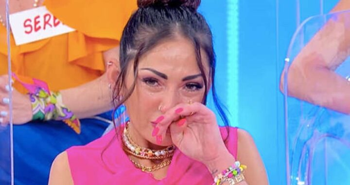 UeD: Ida Platano in lacrime per Riccardo