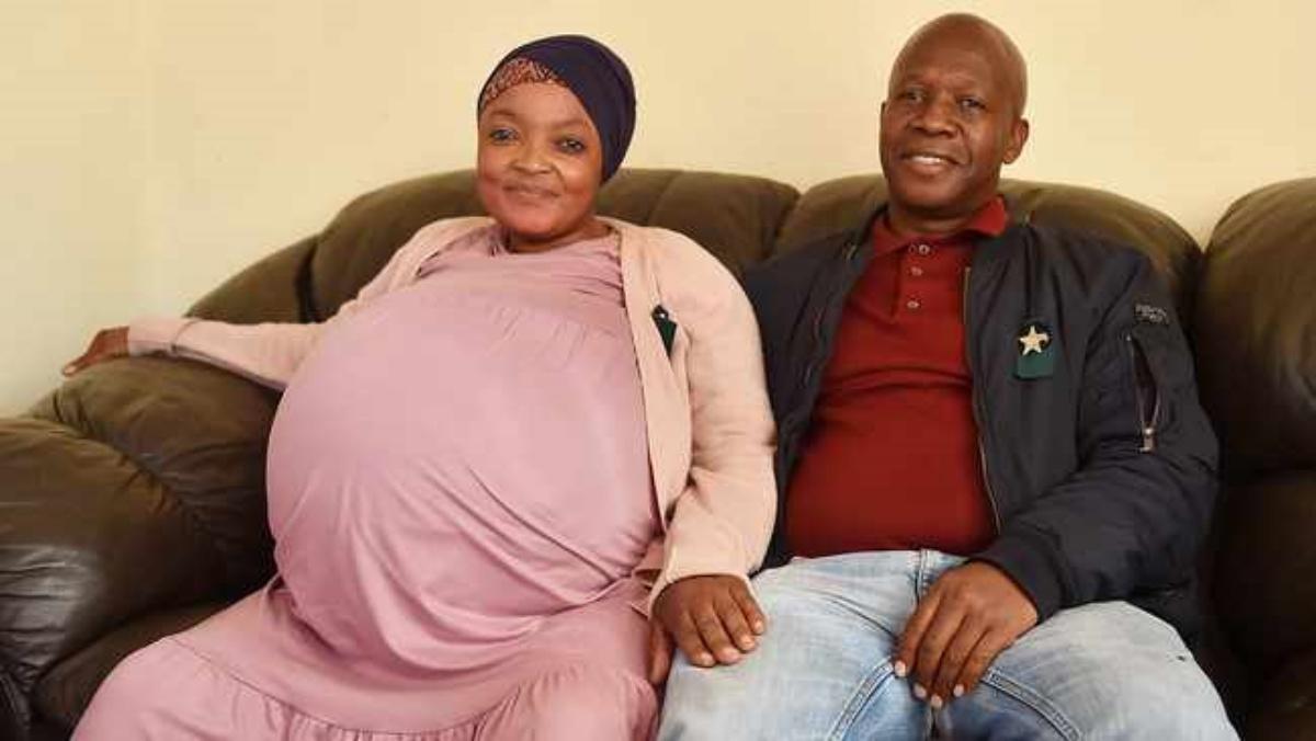 Record in Sud Africa: nati 10 gemelli