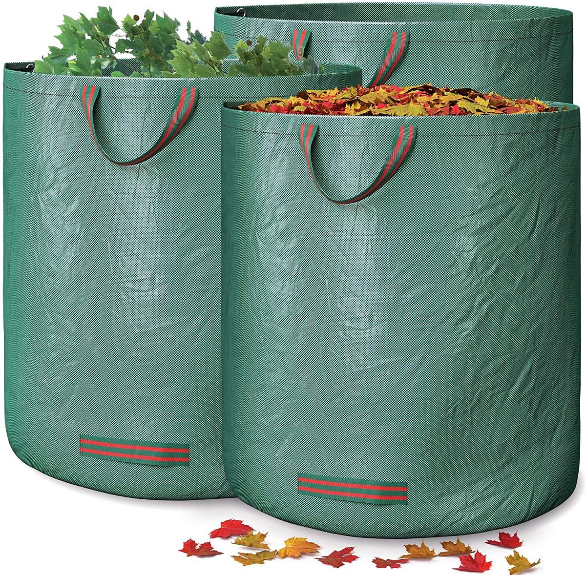 sacchi da rifiuti per giardino
