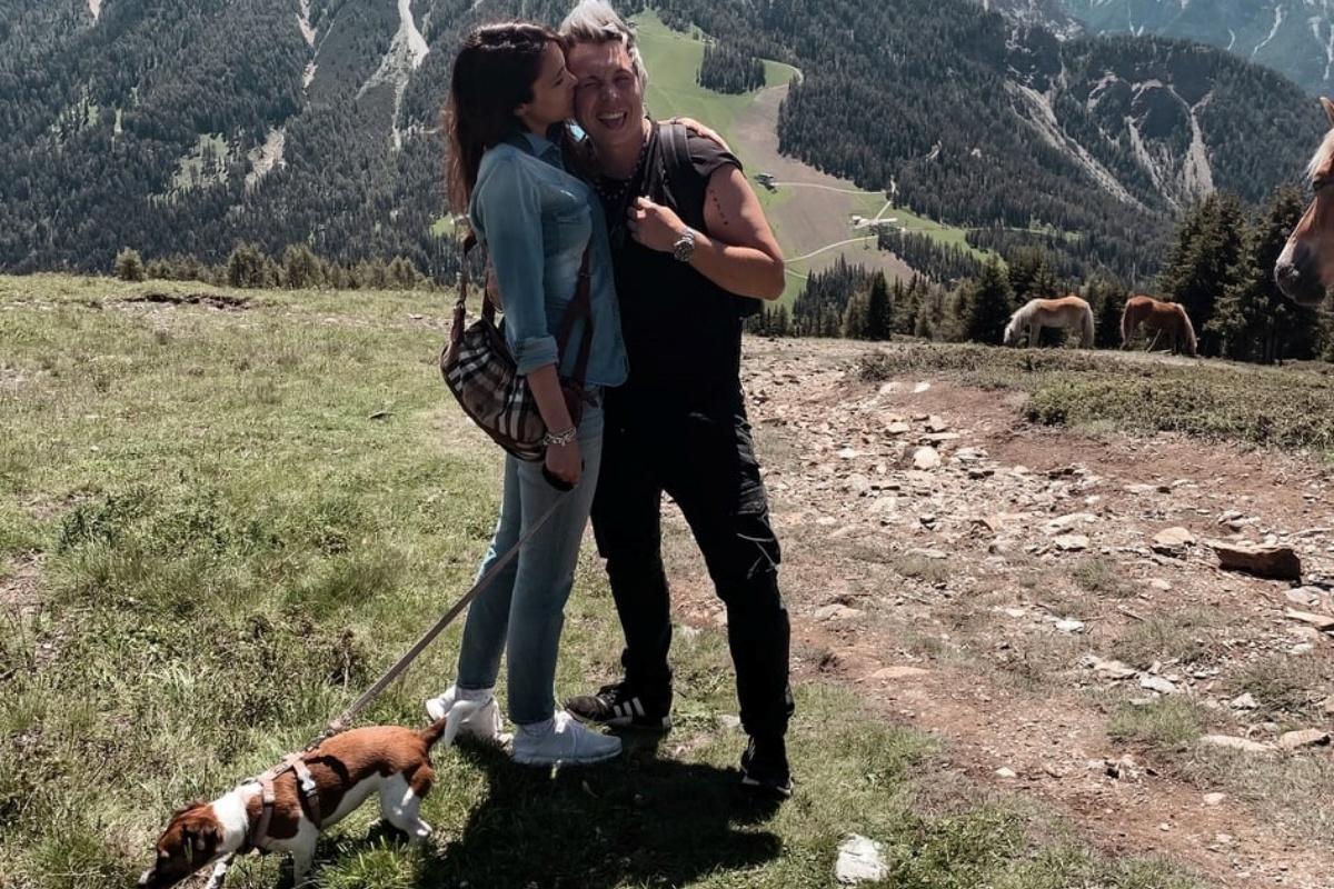 Andrea Mainardi e sua moglie Anna Tripoli aspettano un bimbo