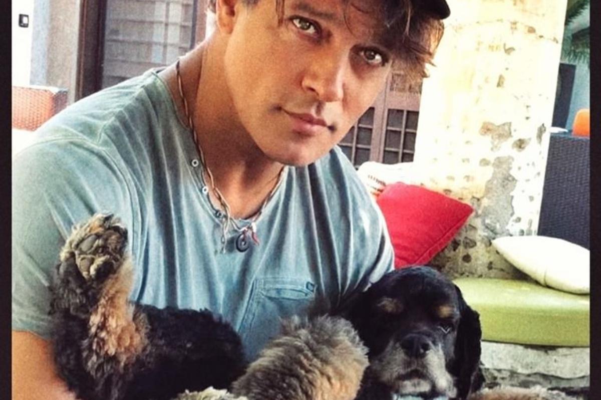 È morto il cane di Gabriel Garko