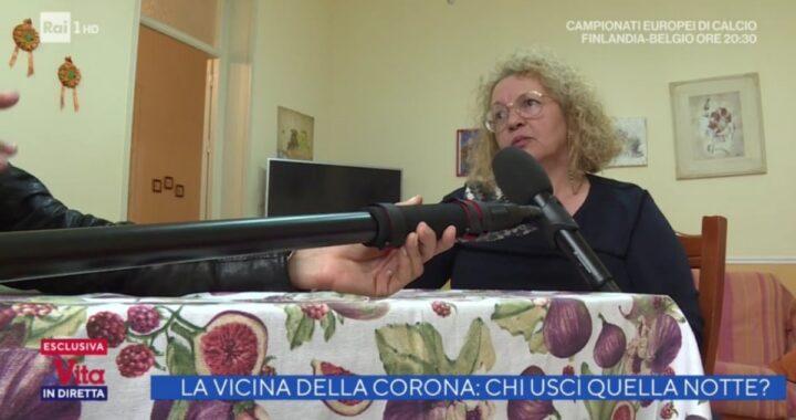La vita in diretta: rivelazione esclusiva di Giacoma Pisciotta, l'ex vicina di Anna Corona