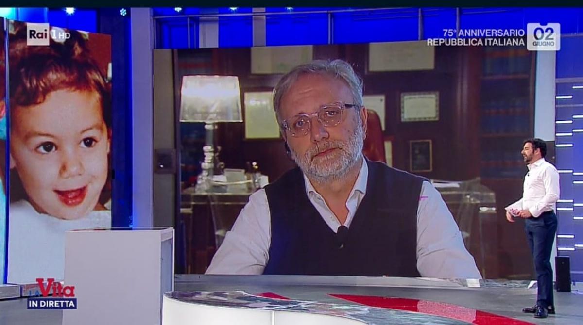 Giacomo Frazzitta a La vita in diretta