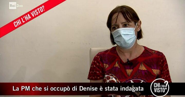 Chi l'ha visto: Maria Angioni spiega i motivi delle accuse della Procura
