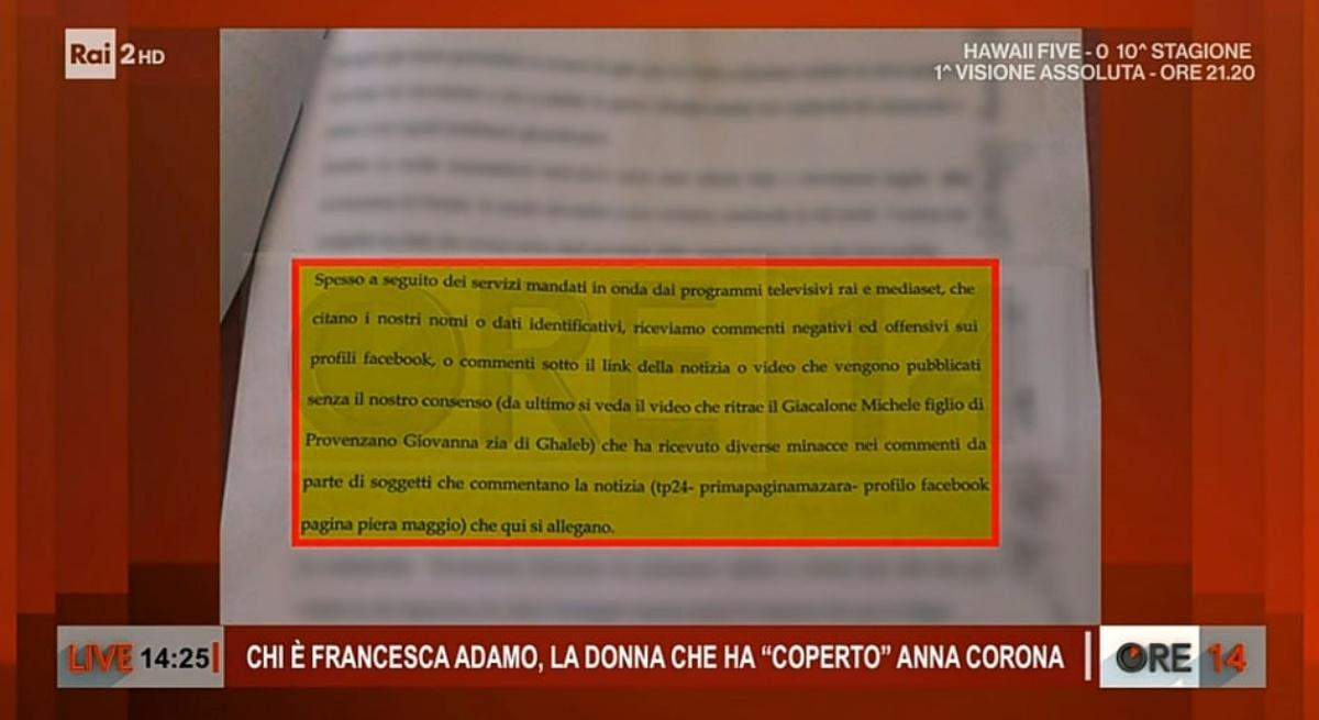 10 mazaresi denunciano i giornalisti: la notizia di Milo Infante