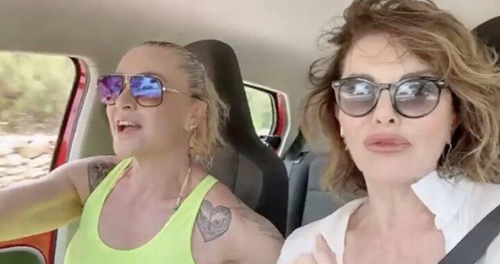 Infortunio per la showgirl in vacanza ad Ibiza