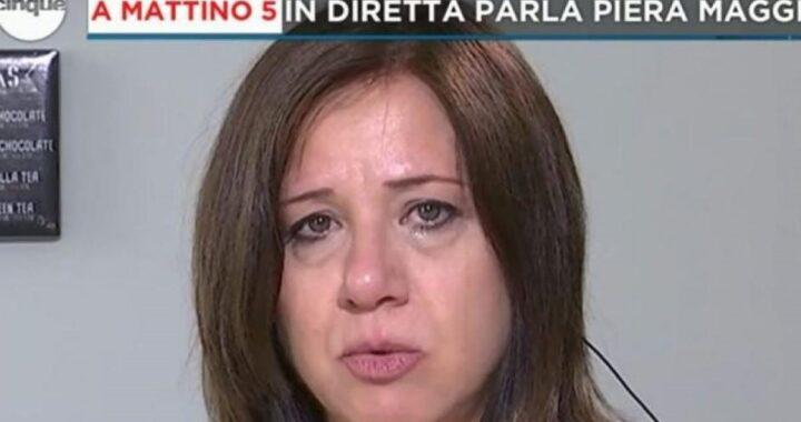 Le lacrime di Piera Maggio