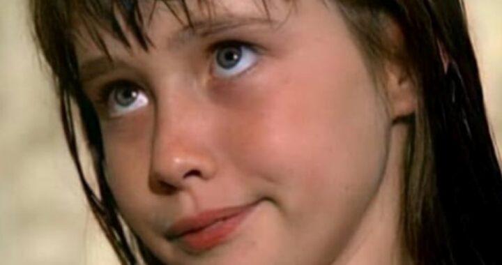 Shannen Doherty e la foto da bambina