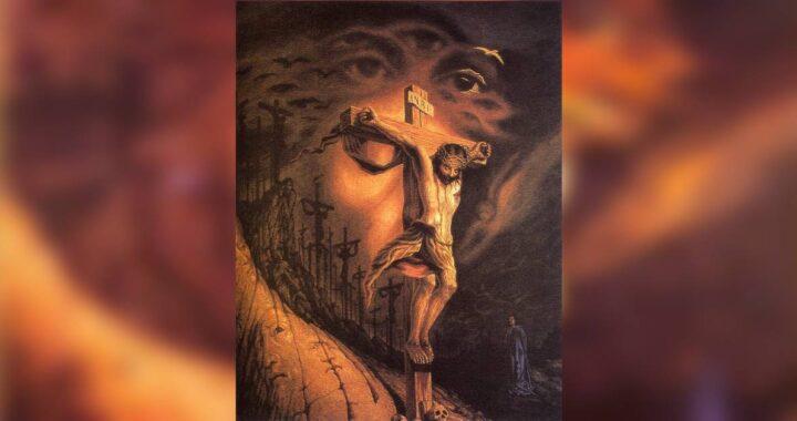 Test visivo della spiritualità: quante volte vedi Gesù nella foto?