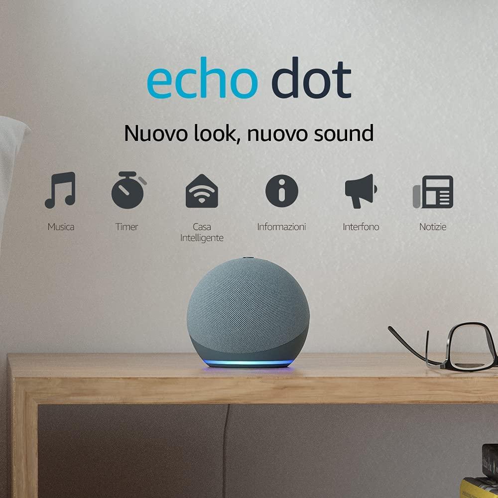 Echo Dot, altoparlante intelligente con Alexa