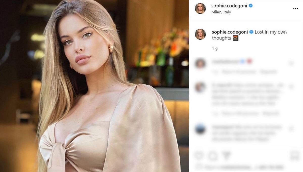 Sophie Codegoni a casa di Fabrizio Corona fidanzata