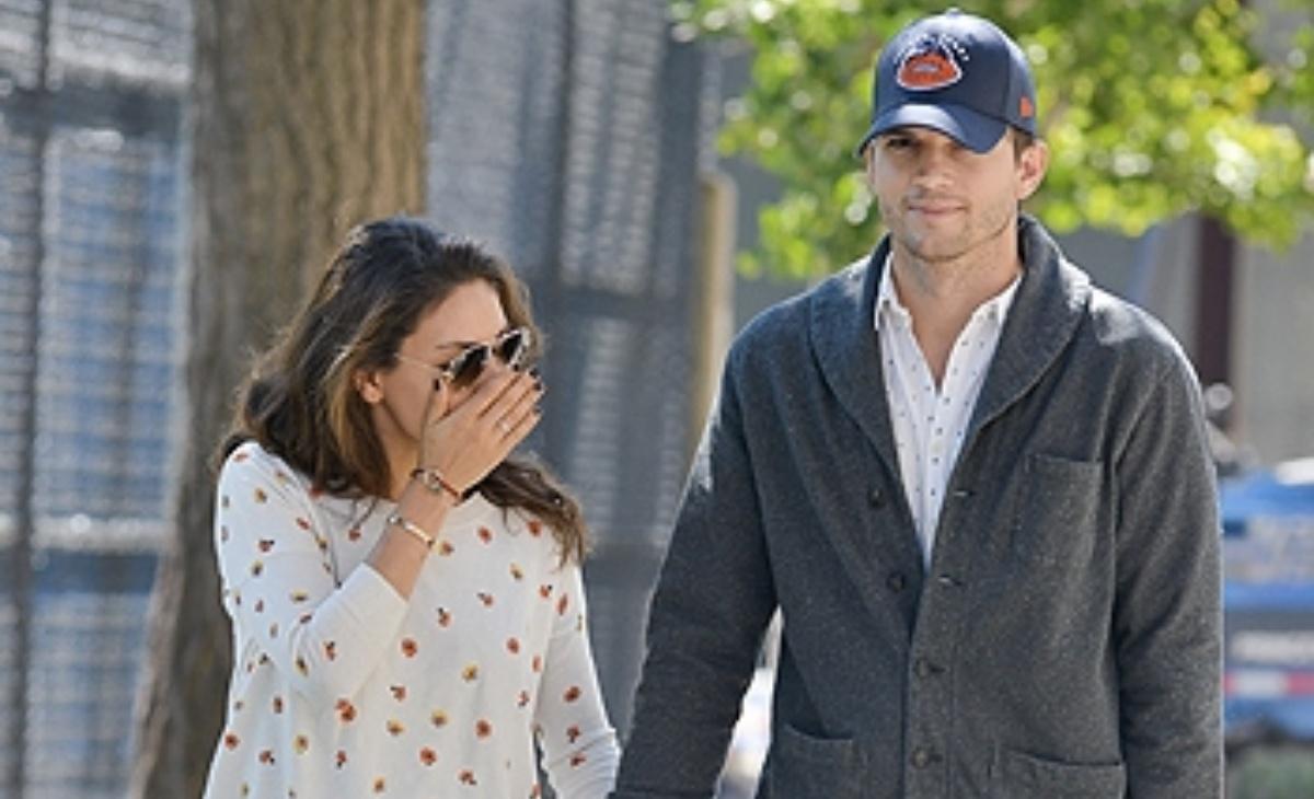 Ashton Kutcher e Mila Kunis abitudini igieniche