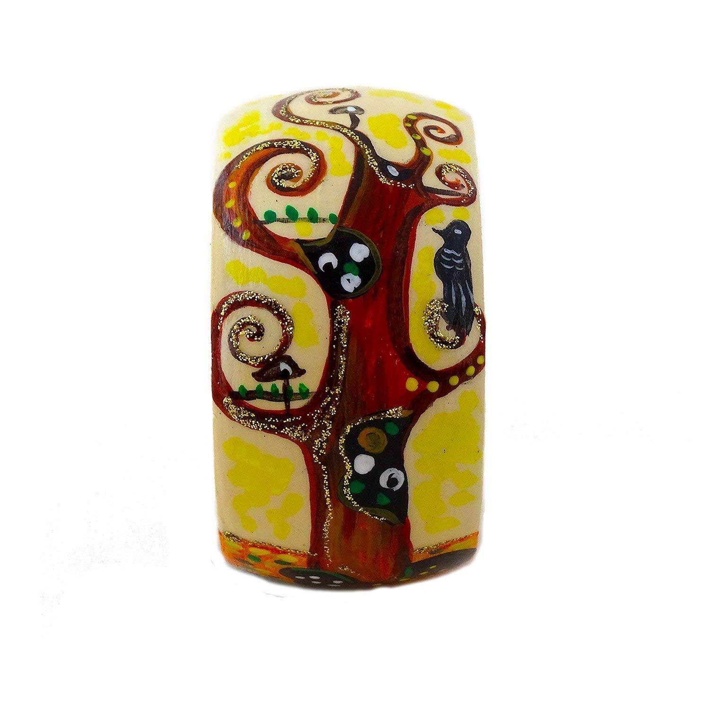 Bracciali handmade dipinti a mano – L'albero della vita di Klimt