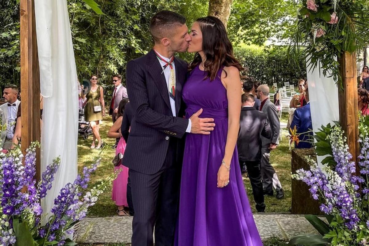 Bruno Vanzan e sua moglie Marcella aspettano il loro secondo bambino