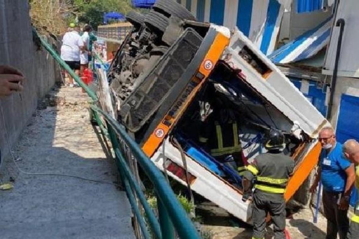 Il racconto di un testimone dell'incidente di Capri