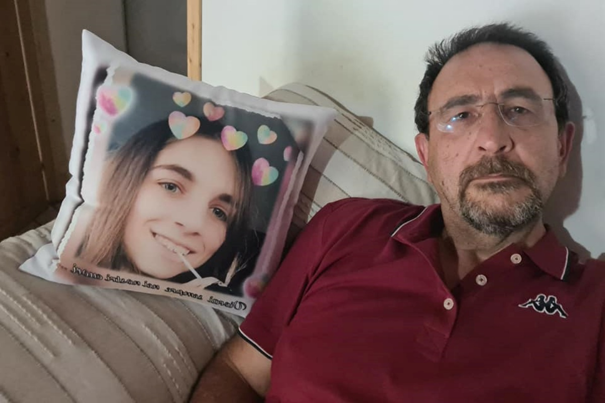 Tutto il dolore del papà di Chiara Gualzetti