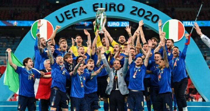 italia campione d'europa europei 2020