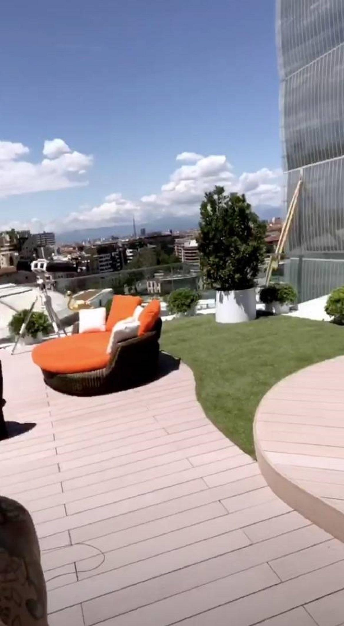 terrazzo casa fedez