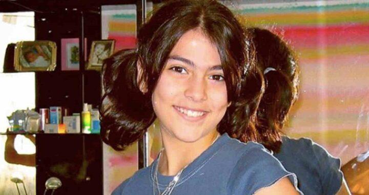 Giulia Salemi da piccola