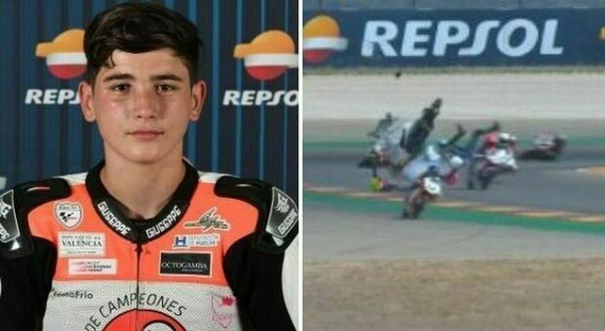 Hugo Millan morto ad Aragon durante una gara di motociclismo