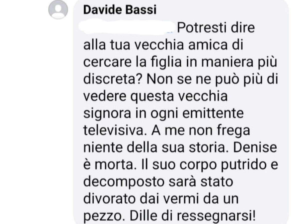 Piera Maggio e i post su Facebook