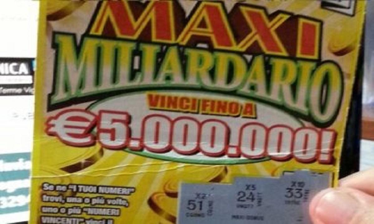 5 milioni di euro vinti
