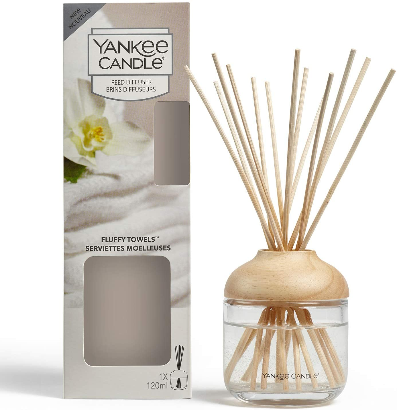 Yankee Candle Fluffy Towels Fragrant Reeds