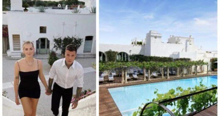 Fedez e Chiara Ferragni in vacanza in Puglia: ecco quanto costa a notte il resort di lusso