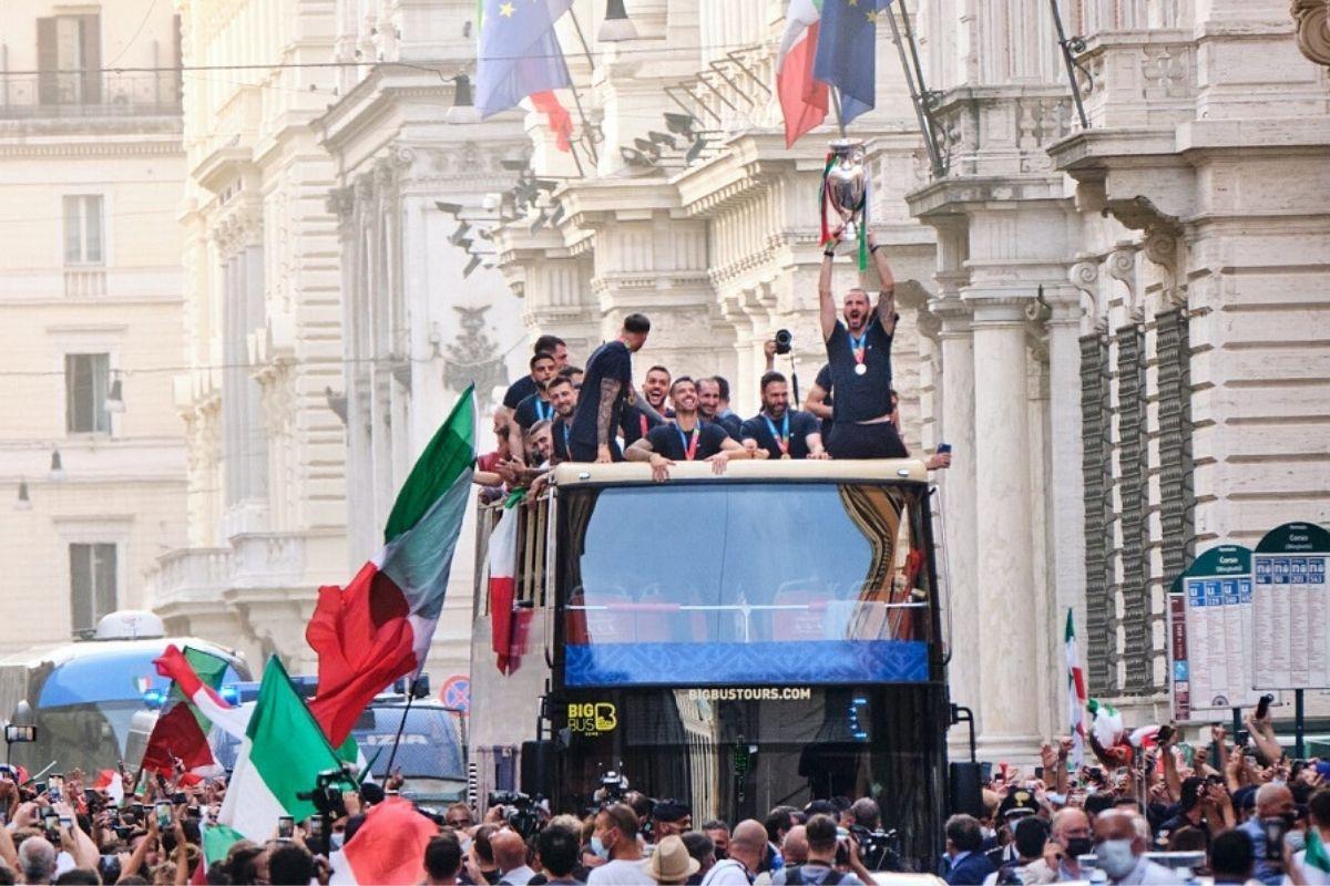 italia bus scoperto