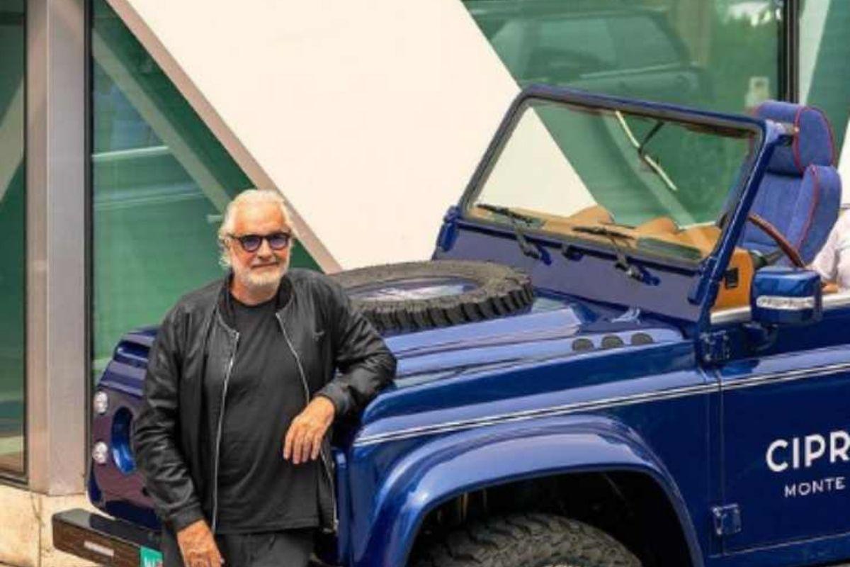 Flavio Briatore, nuova auto