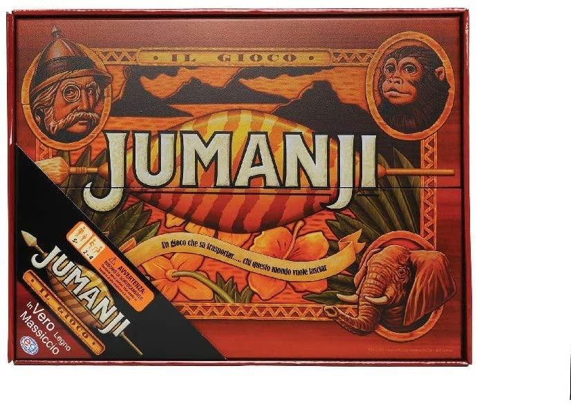 Jumanji edizione in legno