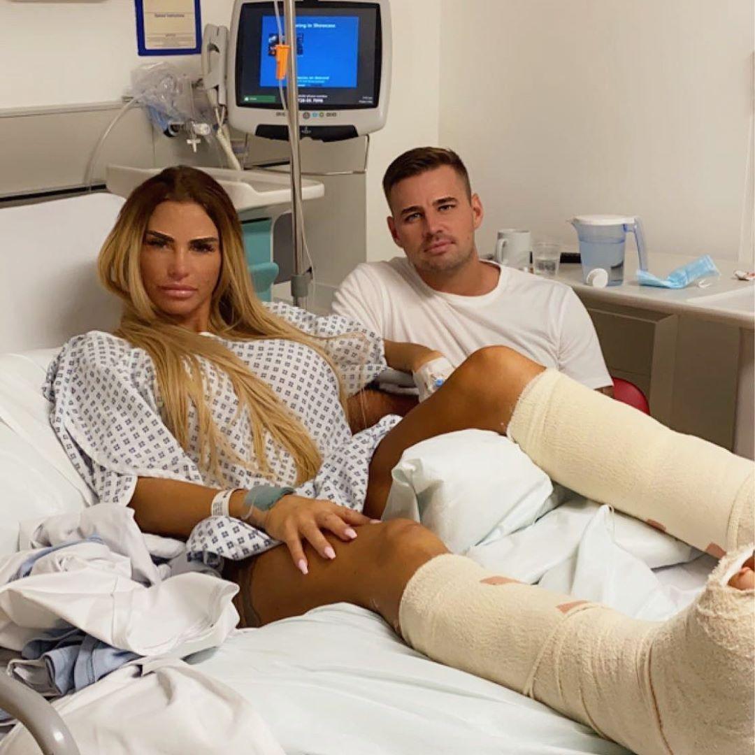 Modella in ospedale