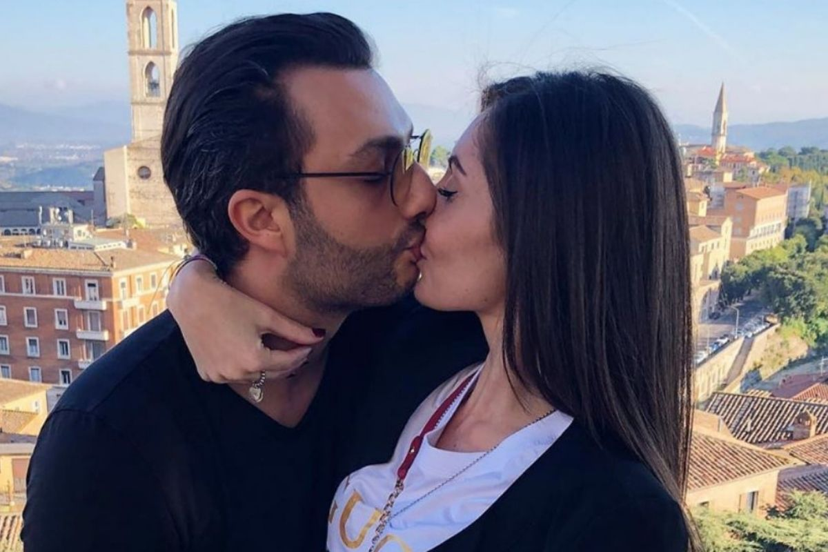 Gabriele Costanzo and girlfriend
