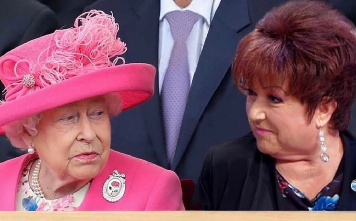 Orietta Berti contro la regina Elisabetta