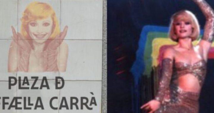 """Raffaella Carrà, Madrid le dedica una piazza. I familiari: """"L'Italia ha perso un'occasione"""""""