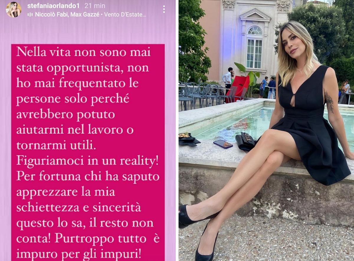 Stefania Orlando contro Alessio Ceniccola