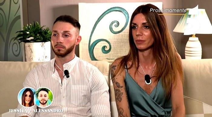Temptation Island: arriva la rottura per Jessica e Alessandro