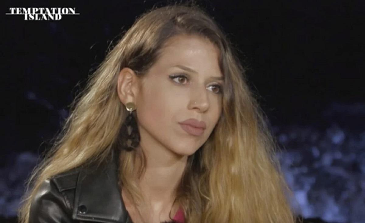 Temptation Island: vistoso make-up di Floriana