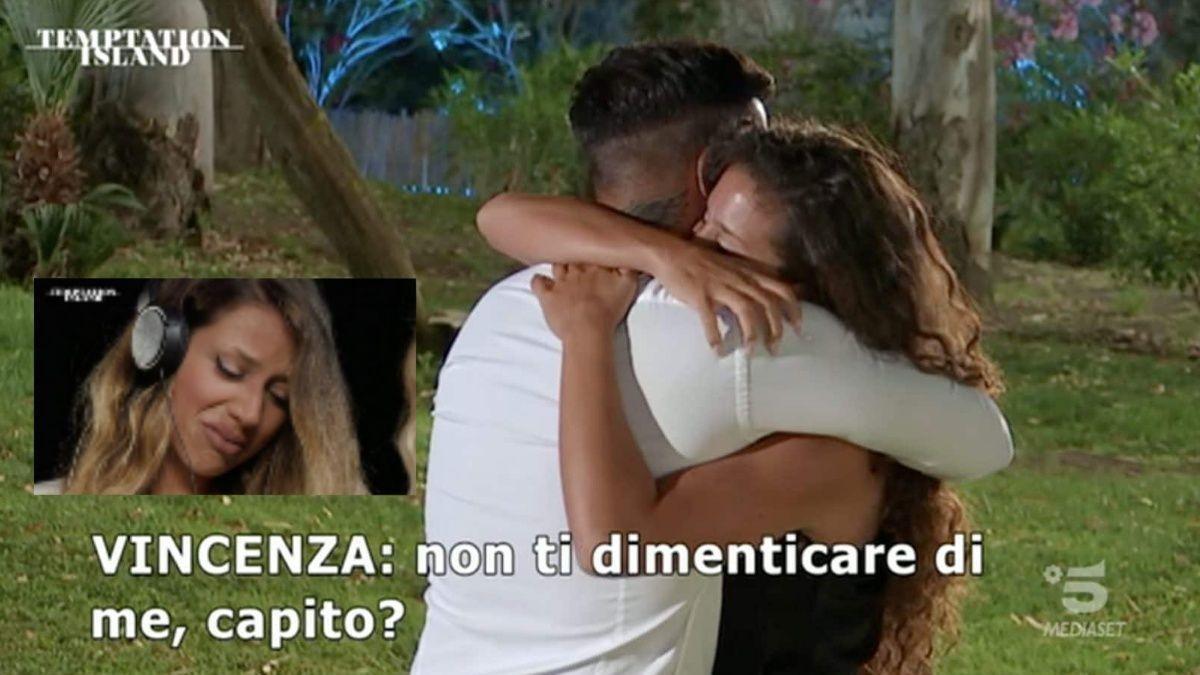 """Temptation Island, Vincenza la corteggiatrice: """"Federico mi ha scossa"""""""